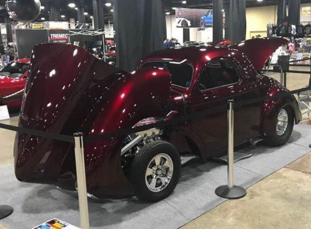 1941 Willys Coupe HEMI Custom