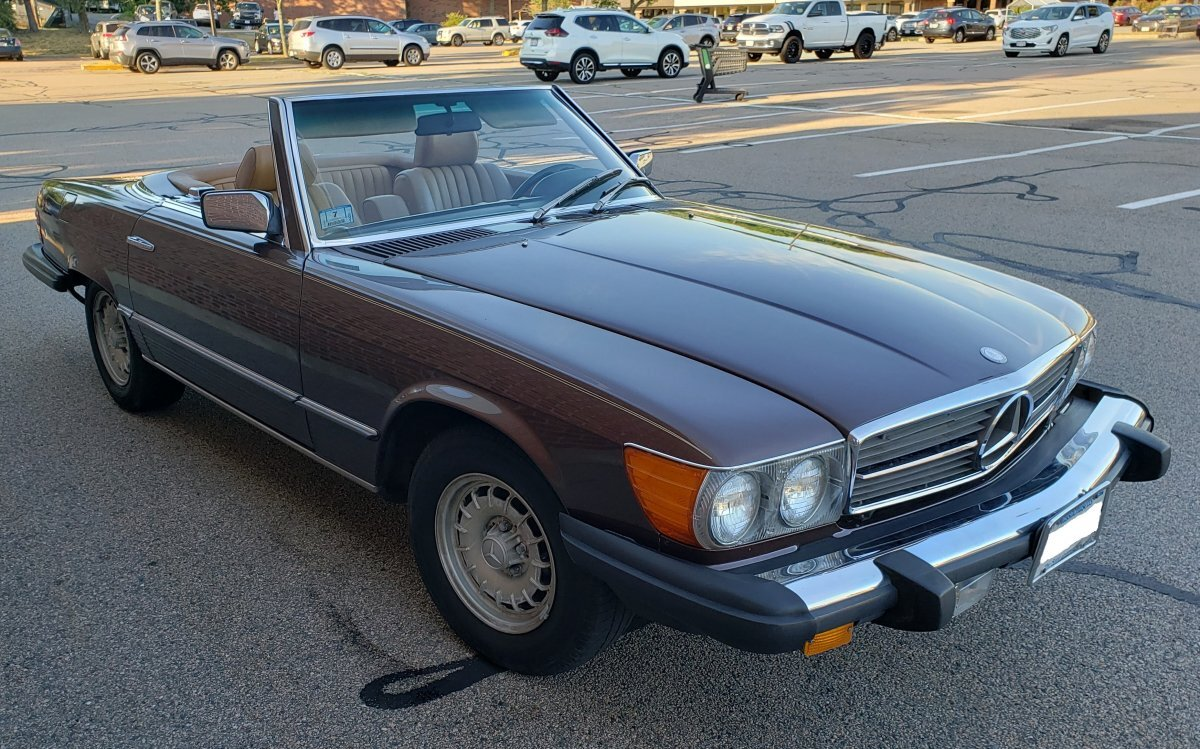 1985 Mercedes-Benz 380SL Roadster for sale in Hanover, MA