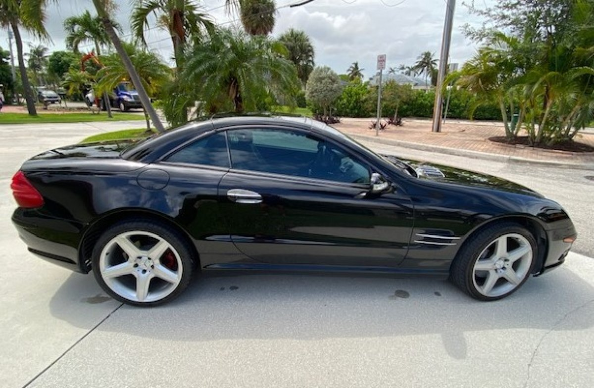 2003 Mercedes-Benz SL500 Roadster for sale in Hanover, MA