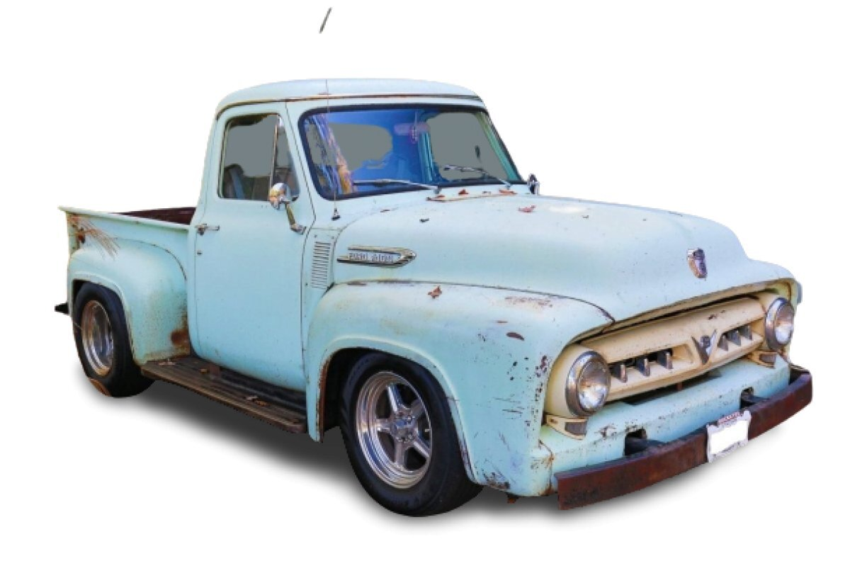 1953 Ford F-100 Side Step