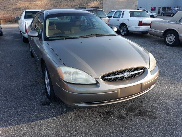 2002 FORD TAURUS SE automatic