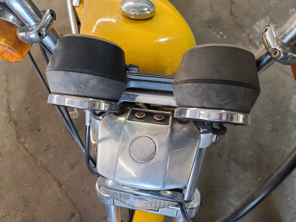 1982 HARLEY-DAVIDSON sporster -iron head