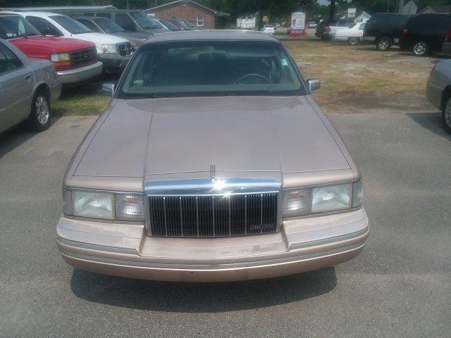 1992 LINCOLN TOWN CAR Signature