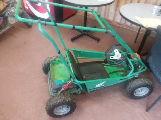 2009 HONDA GO CART Green