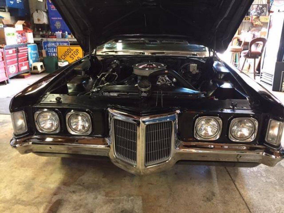 1970 PONTIAC GRAND PRIX 455 AUTO BLACK / BLACK - Photo