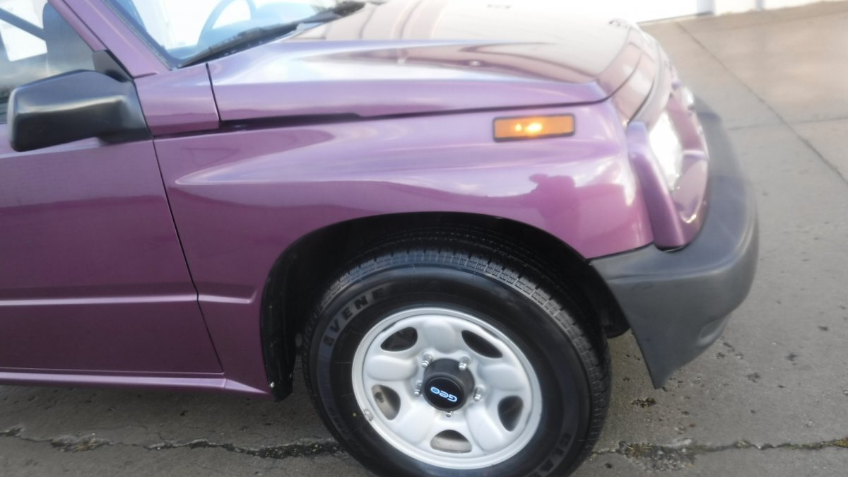 1996 GEO TRACKER SOFT TOP SOFT TOP CONVERTIBLE SUV - Photo