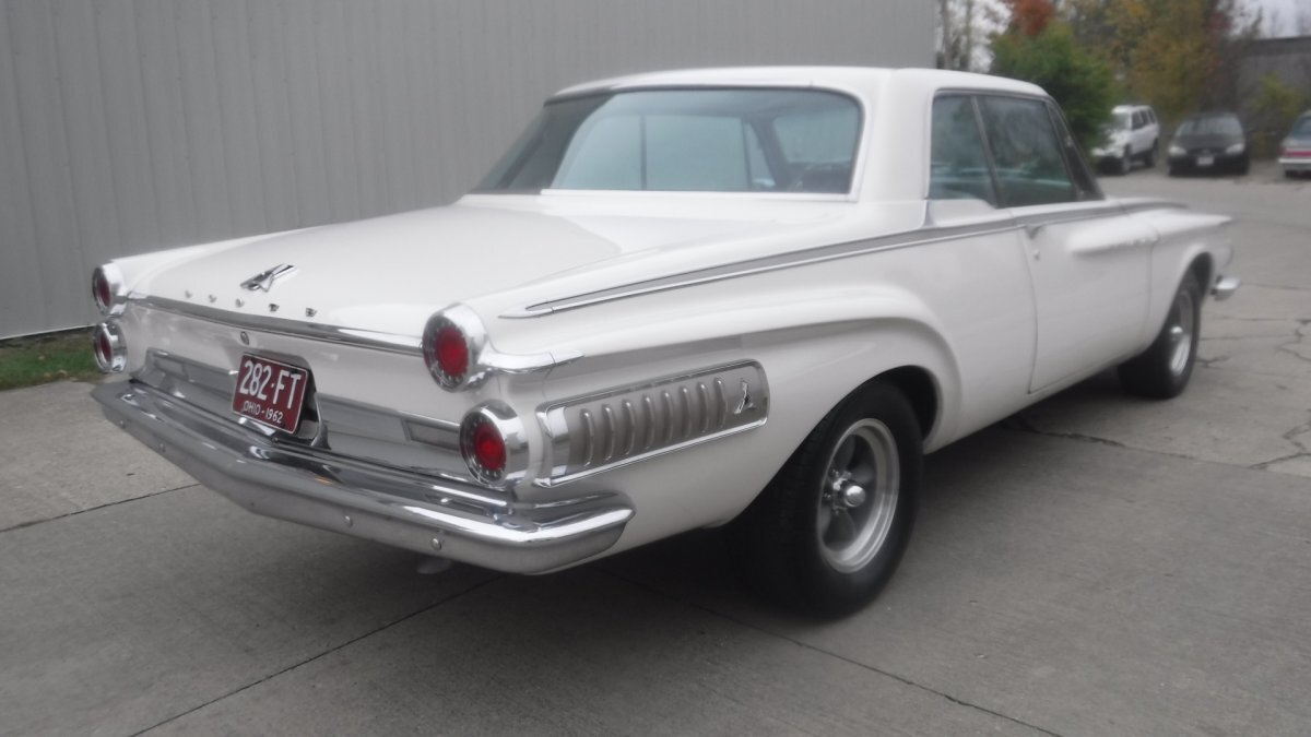 1962 DODGE POLARA 500 COUPE 500 BUCKET SEATS 361HI PO - Photo