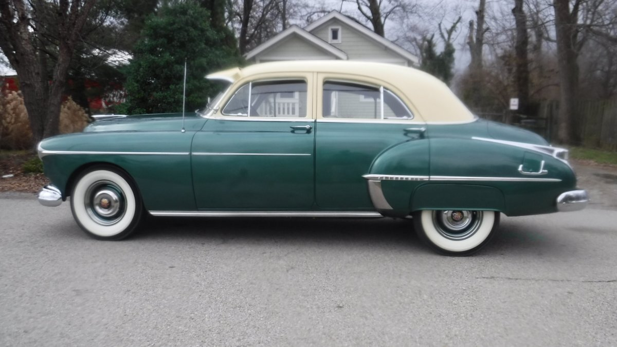 1950 OLDSMOBILE 88 4 DOOR SEDAN DELUXE 303V8, AUTO, NICE OPTIONS in Milford, OH