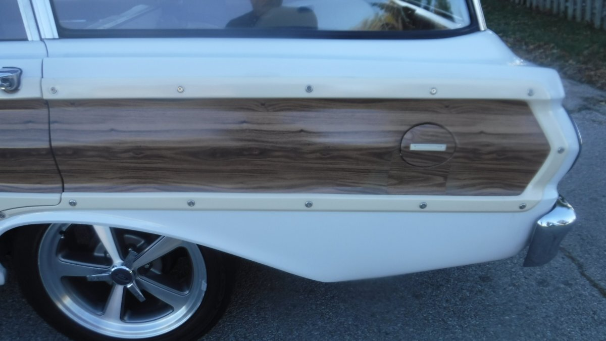1964 FORD SQUIRE STATION WAGON 4 DOOR 6 CYL AUTO SQUIRE WOODY WAGON - Photo