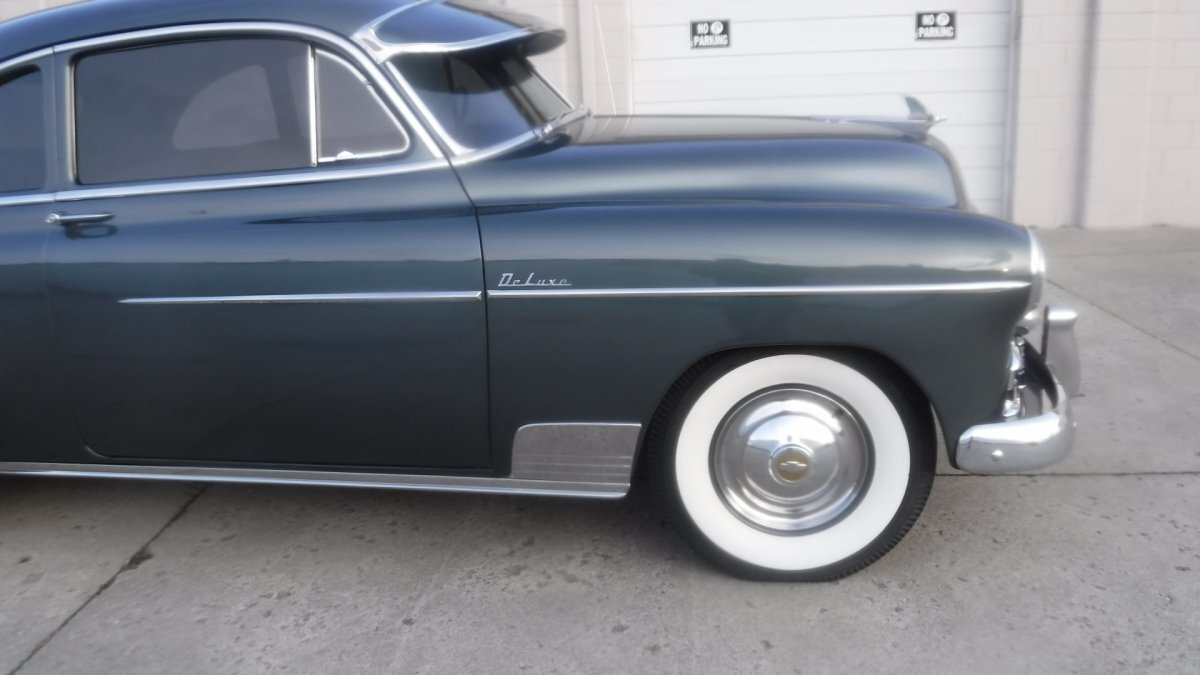 1950 CHEVROLET DELUXE COUPE 6 CYL, FENTON OPTIONS, 3 SPEED - Photo