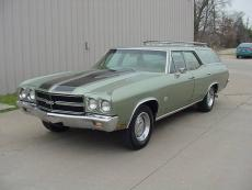1970 CHEVROLET CHEVELLE STATION WAGON