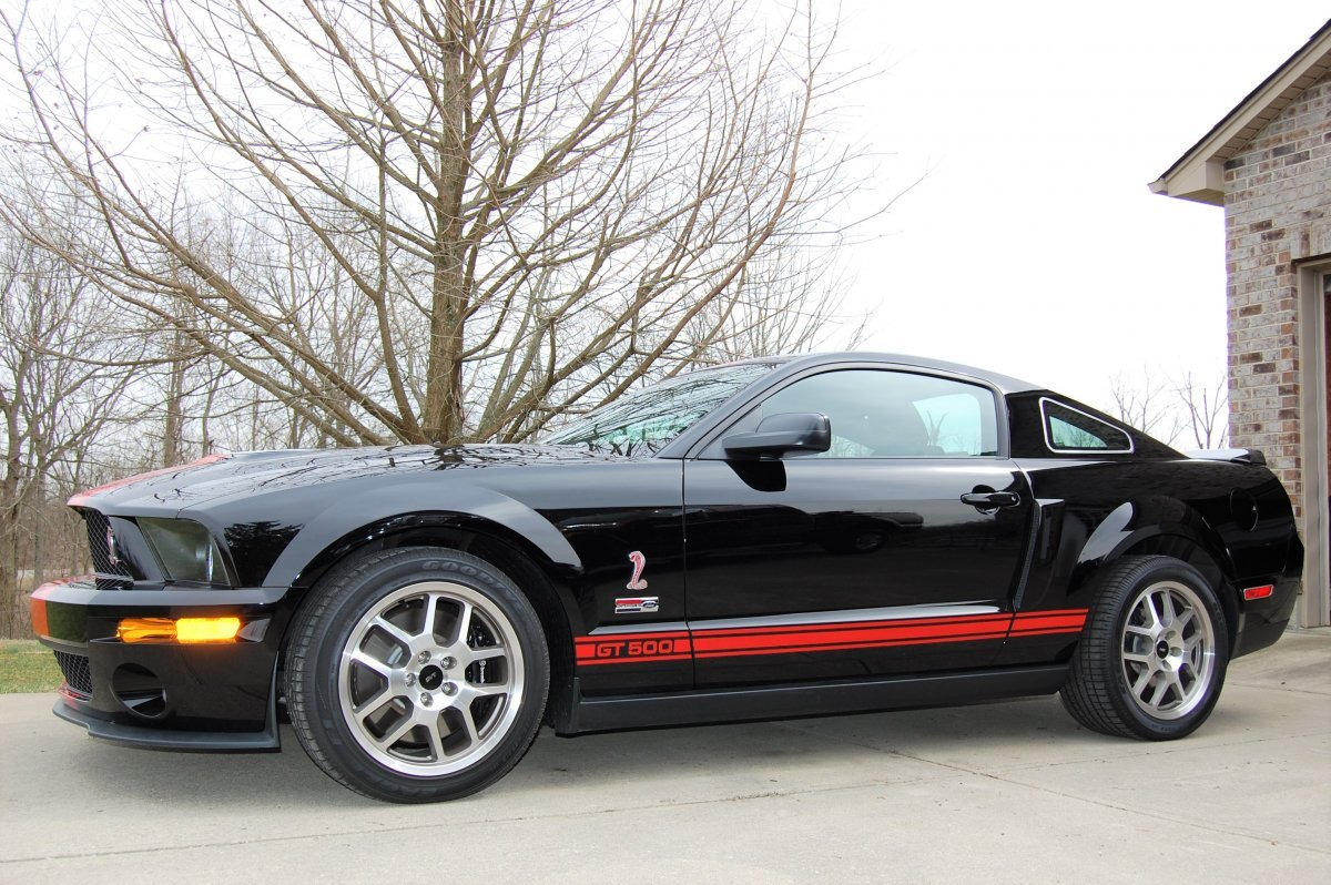 2007 FORD MUSTANG SHELBY GT 500 SHELBY GT 500 in Milford, OH