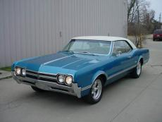 1966 OLDSMOBILE CUTLASS SUPREME HOLIDAY COUPE HOLIDAY HARDTOP COUPE, 425, AUTO