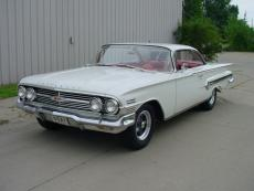 1960 CHEVROLET IMPALA 348 3 CARB 4 SPEED