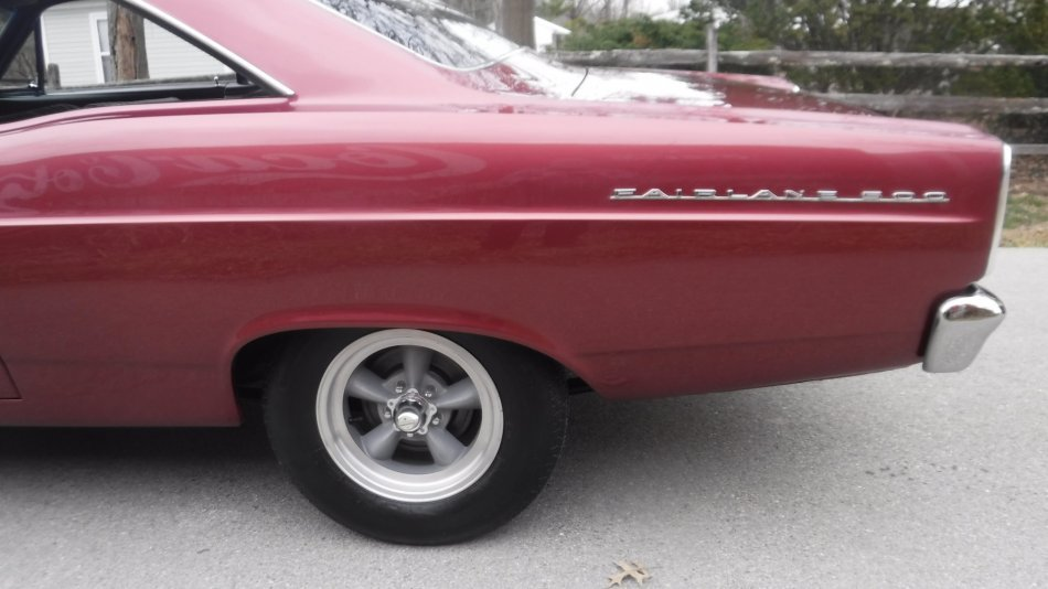 1966 FORD FAIRLANE 500 COUPE V8, MANUAL TRANS - Photo
