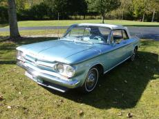 1964 CHEVROLET CORVAIR CONVERTIBLE 4 SPEED JUDSON SUPERCHARGER OPTION