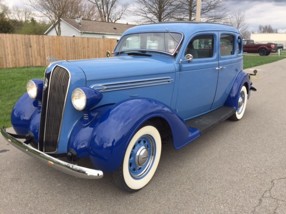 1936 PLYMOUTH P2 DELUXE DELUXE 4 DOOR SEDAN in Milford, OH
