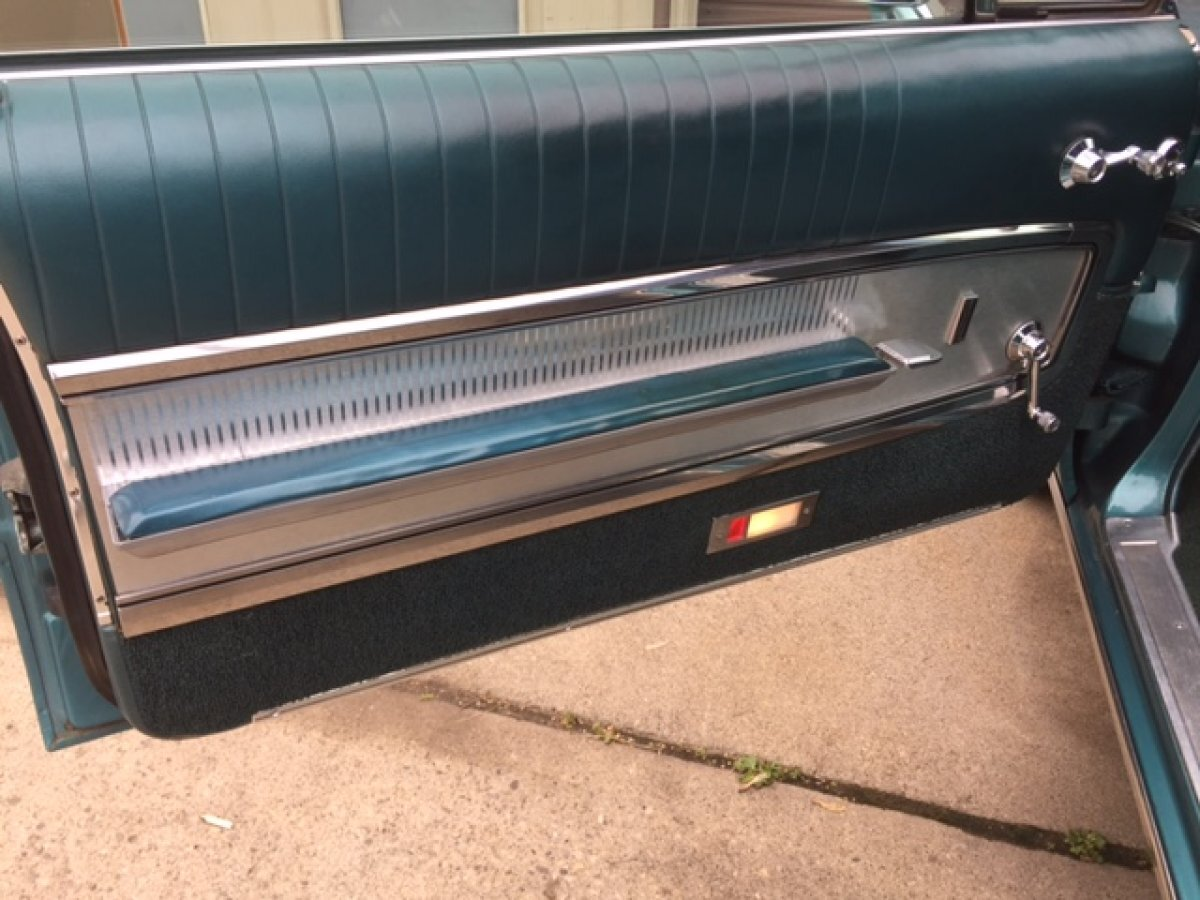 1965 FORD GALAXIE 500 XL 2 DOOR HARDTOP 390