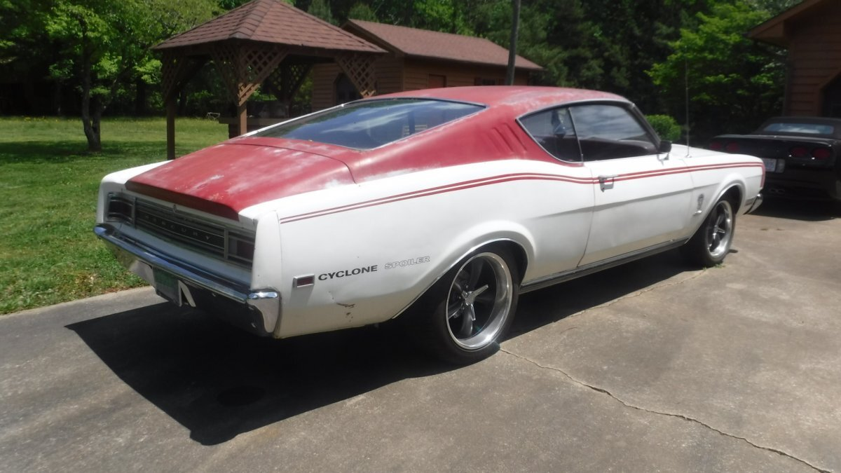 1969 MERCURY CYCLONE COLOR CODE 351-4 4 SPEED COLOR CODE OPTION in Milford, OH