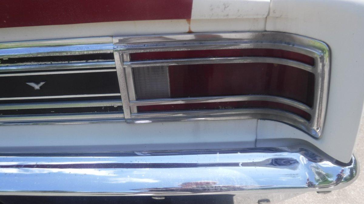 1969 MERCURY CYCLONE COLOR CODE 351-4 4 SPEED COLOR CODE OPTION - Photo