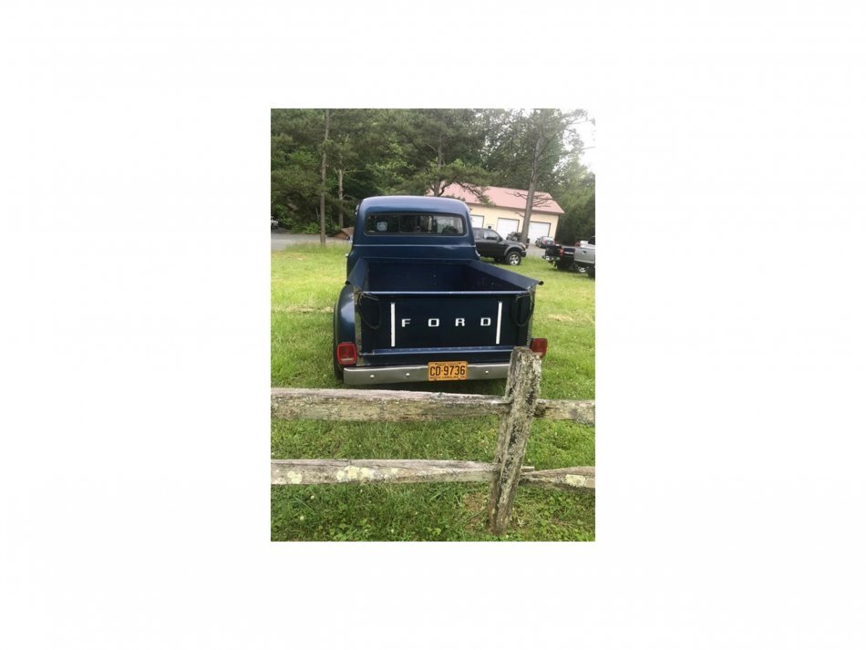1953 Ford F-100 STEP SIDE TRUCK 302, AUTO - Photo