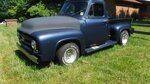 1953 Ford F-100 STEP SIDE TRUCK 302, AUTO