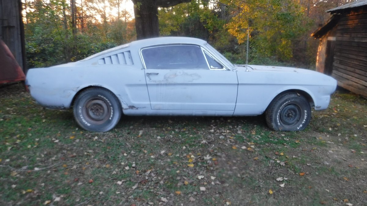 1965 FORD MUSTANG FASTBACK FASTBACK PROJECT in Milford, OH
