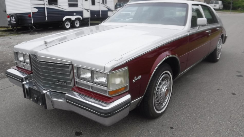 1984 CADILLAC SEVILLE LEATHER in Milford, OH