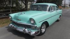 1956 CHEVROLET 210 2 DOOR V8 4 SPEED