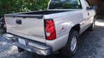2004 CHEVROLET SILVERADO 4X4 Z-85 SINGLE CAB