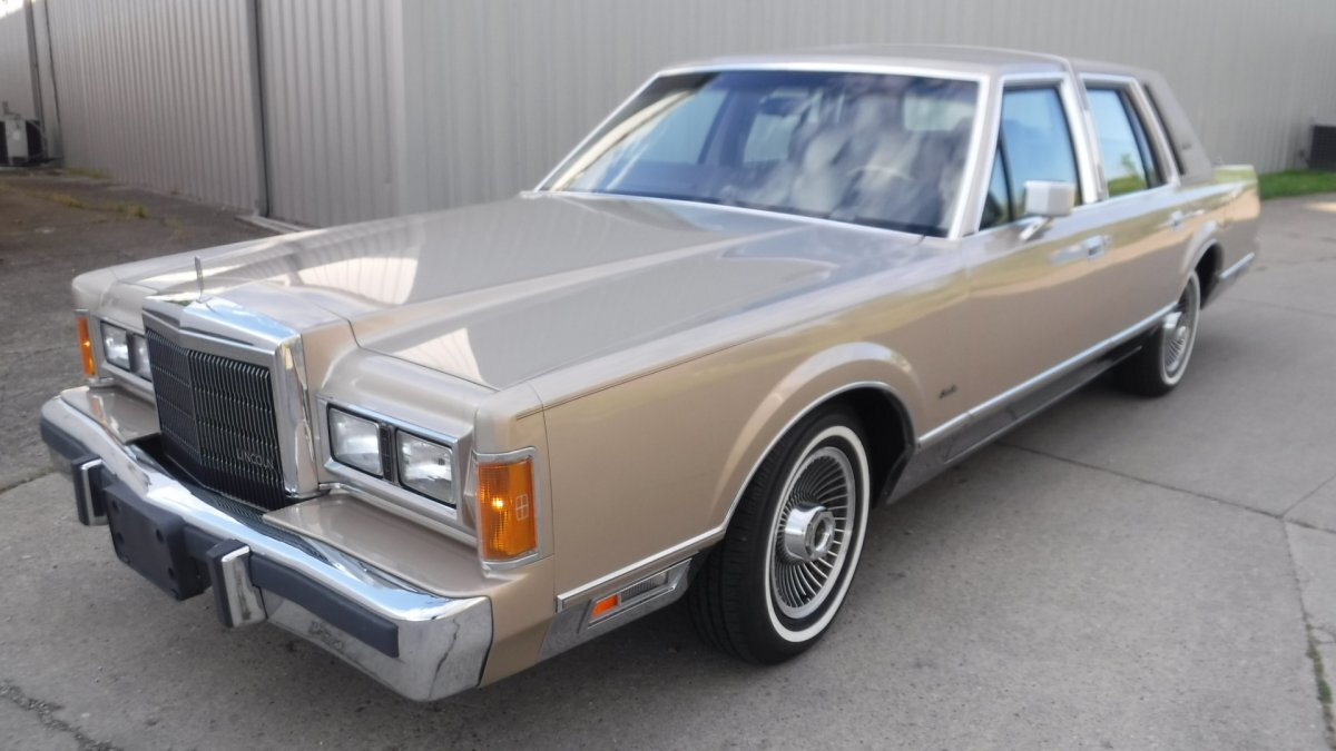1989 LINCOLN TOWN CAR SIGNATURE SERIES LEATHER SIGNATURE SERIES in Milford, OH