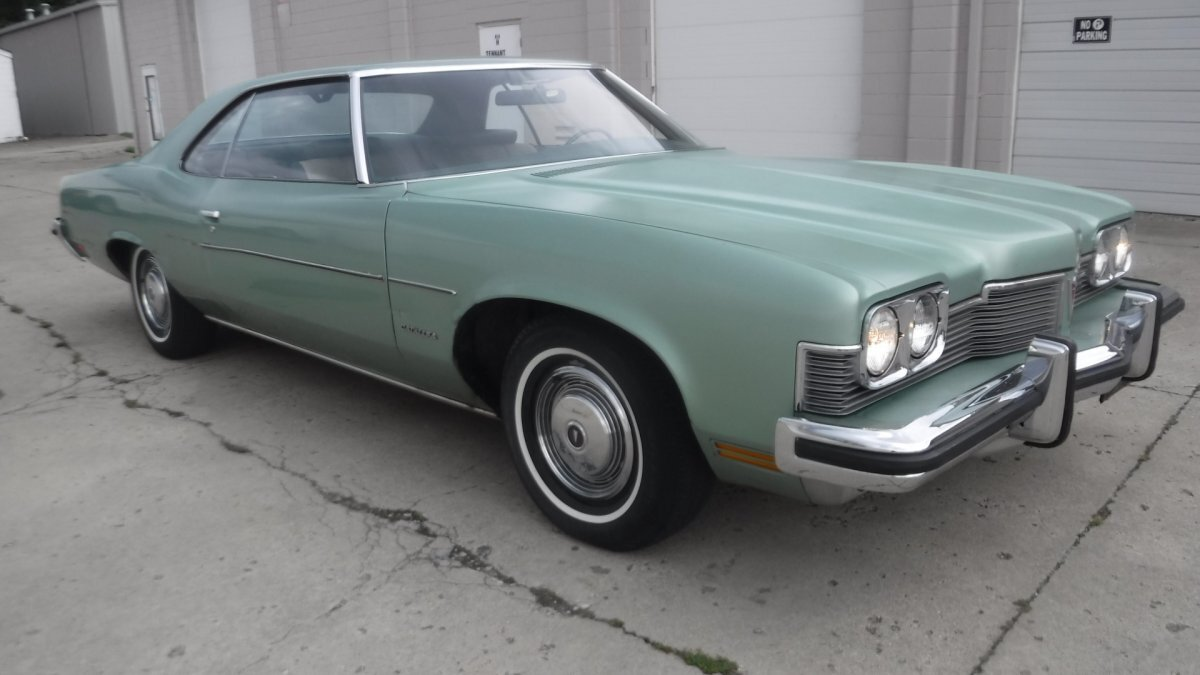 1973 PONTIAC CATALINA 400 COUPE 400 V8 COUPE NO VINYL TOP in Milford, OH