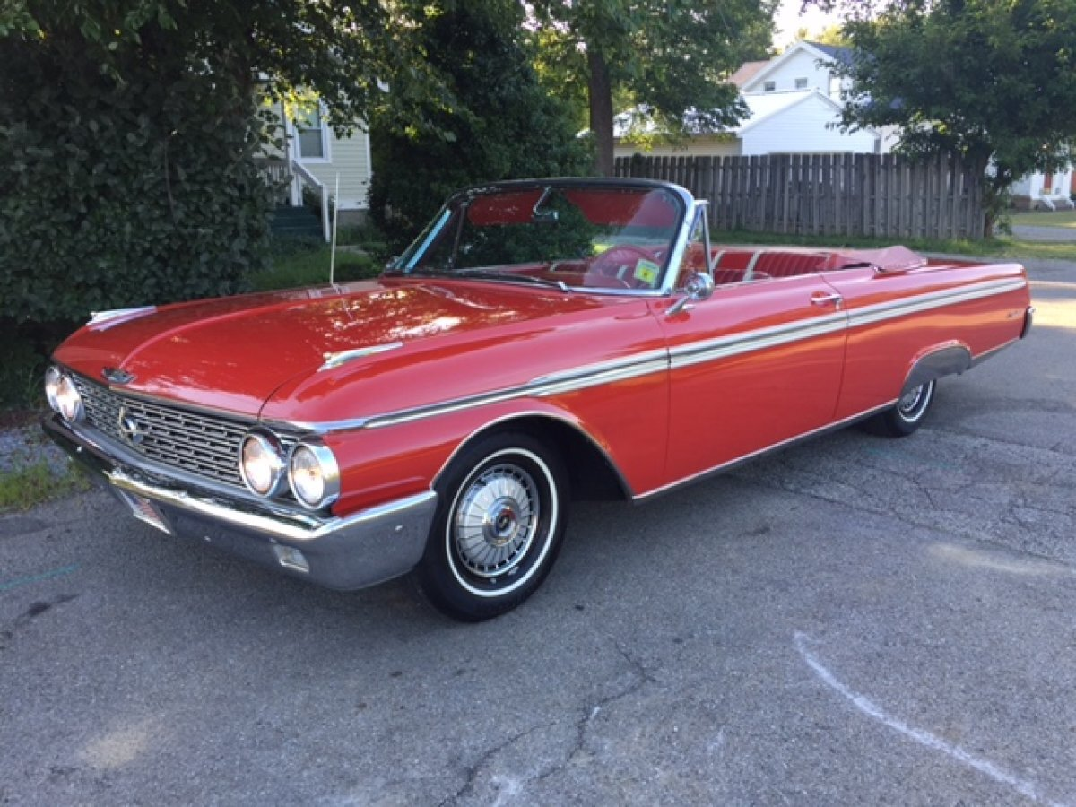 1962 FORD SUNLINER CONVERTIBLE GALAXIE 500 352. AUTO in Milford, OH