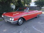 1962 FORD SUNLINER CONVERTIBLE GALAXIE 500 352. AUTO