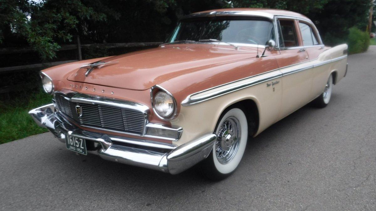 1956 CHRYSLER NEW YORKER NEWPORT 4 DOOR HEMI NEWPORT 4 DR PS, PB, in Milford, OH