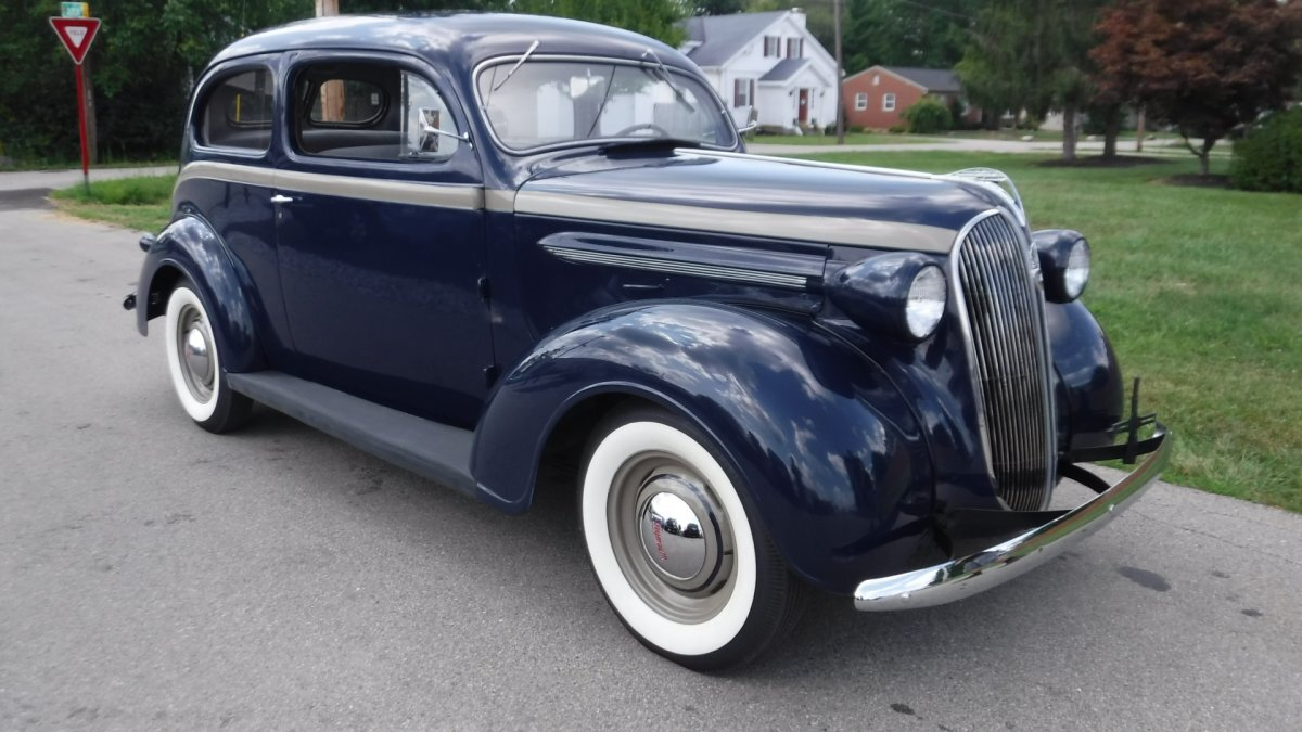 1937 PLYMOUTH P4 TWO DOOR 6 CYL RESTORED in Milford, OH