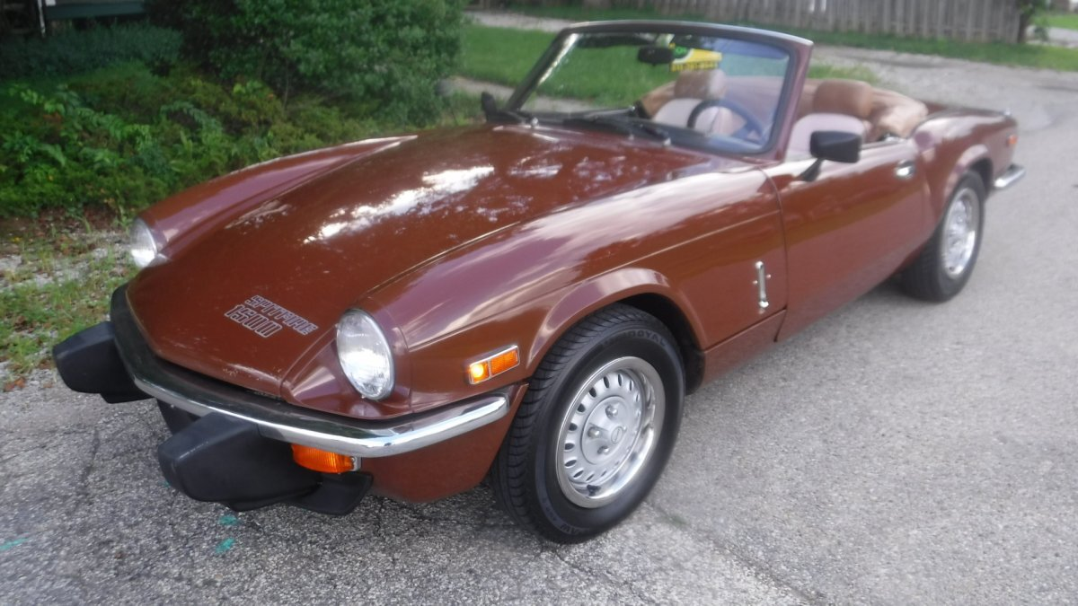 1978 TRIUMPH SPITFIRE ROADSTER 1500 SPITFIRE ROADSTER in Milford, OH