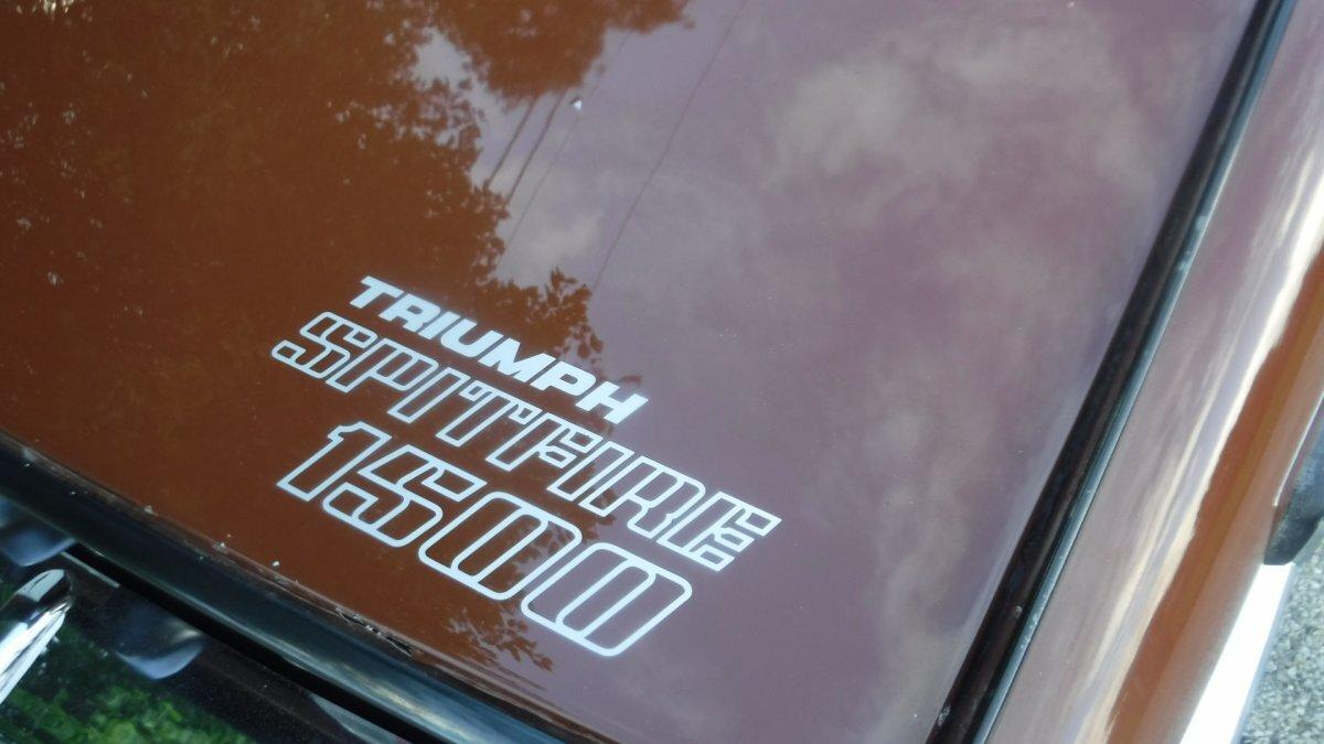 1978 TRIUMPH SPITFIRE ROADSTER 1500 SPITFIRE ROADSTER - Photo