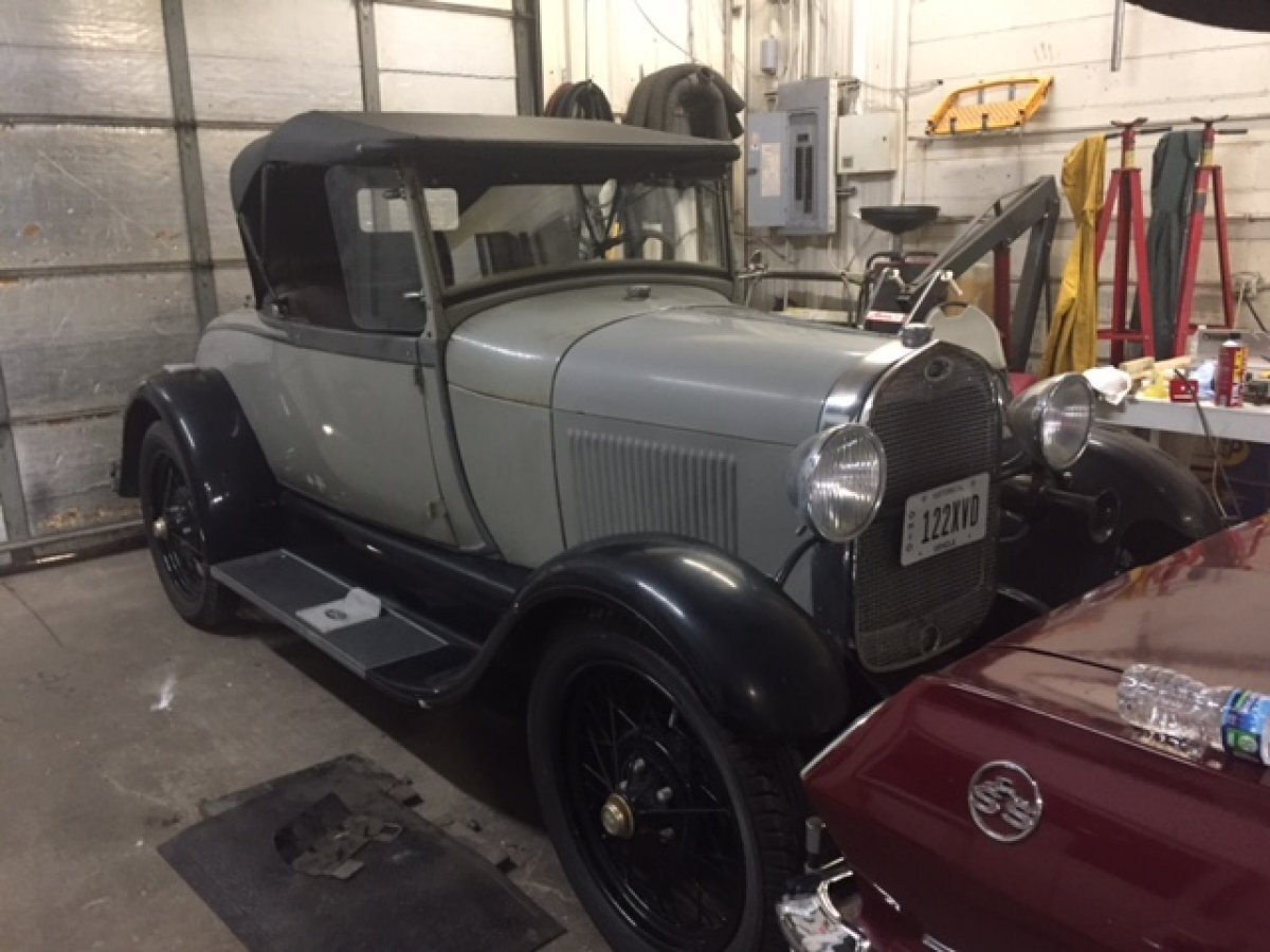 1929 FORD AR ROADSTER ROADSTER RUMBLE SEAT in Milford, OH