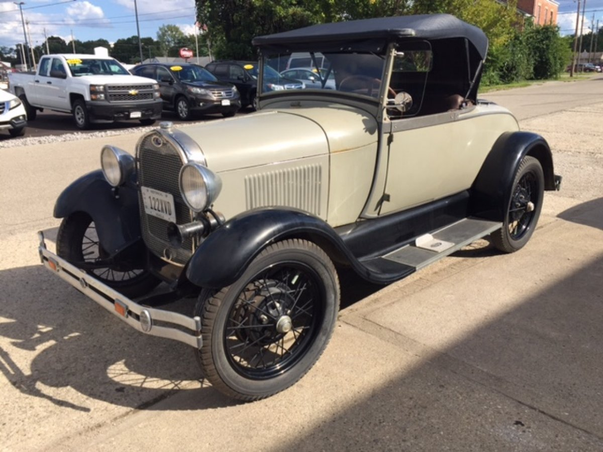 1929 FORD AR ROADSTER ROADSTER RUMBLE SEAT - Photo
