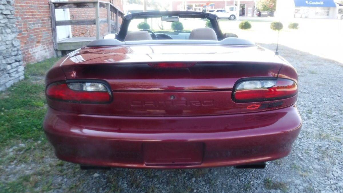 1995 CHEVROLET CAMARO Z/28 CONVERTIBLE Z/28 LEATHER CONVERTIBLE - Photo