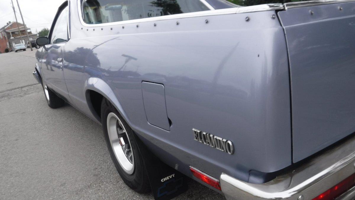 1984 CHEVROLET EL CAMINO SUPER SPORT SUPER SPORT V8, AUTO BED LINER - Photo