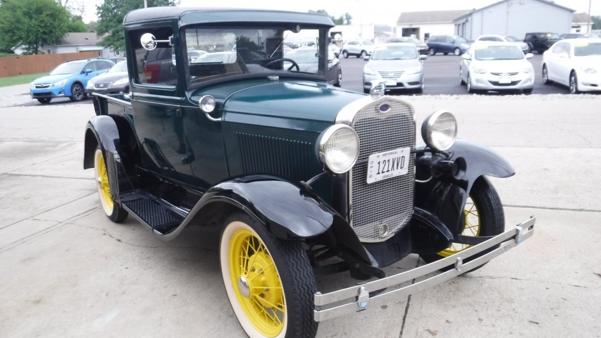 1930 FORD MODEL A TRUCK WIPER, SPARE, WIRE WHEELS in Milford, OH