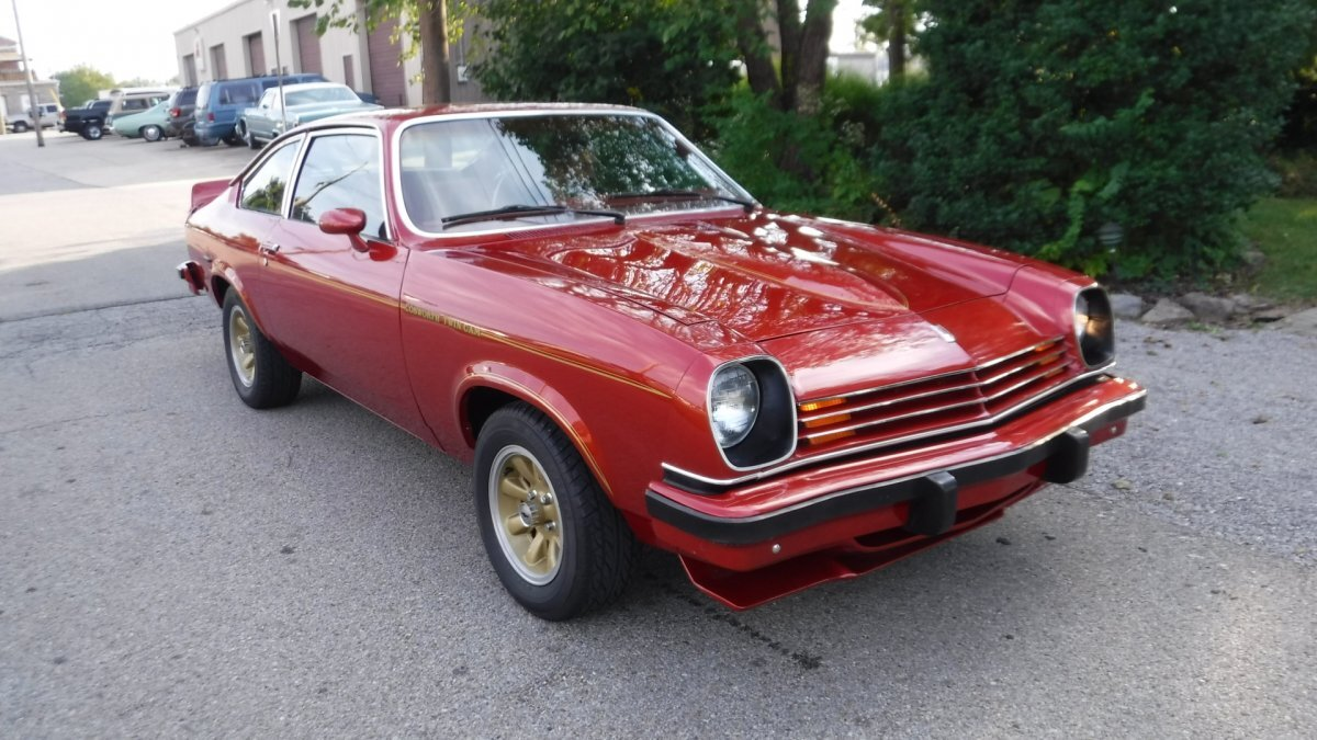 1976 Chevrolet COSWORTH VEGA RED / RED NUMBER 3183 BUILT in Milford, OH