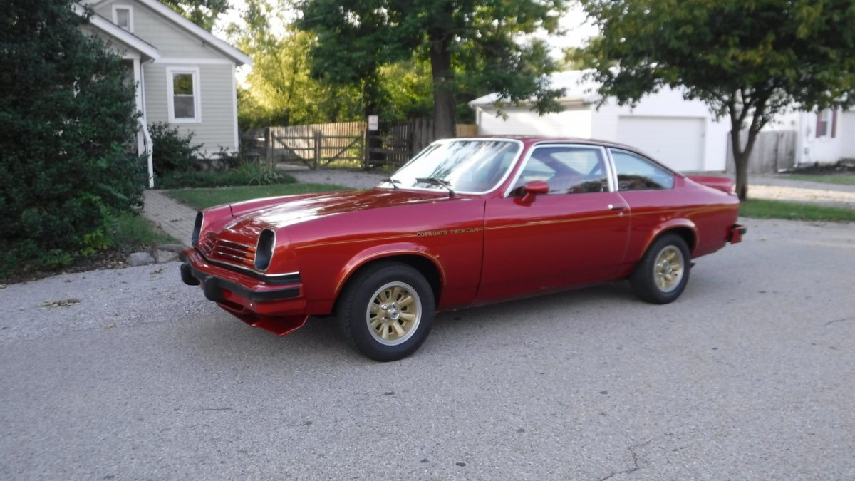 1976 Chevrolet COSWORTH VEGA RED / RED NUMBER 3183 BUILT - Photo