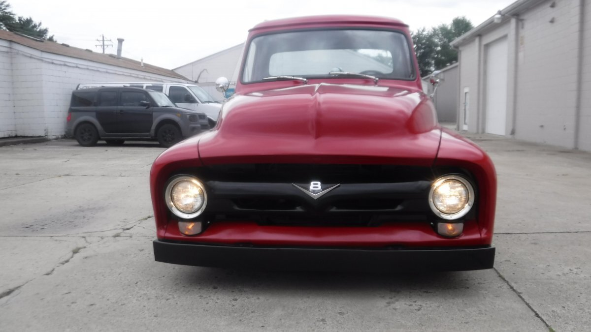 1955 FORD F-100 351 WINDSOR, AUTO, POWER STEERING, - Photo