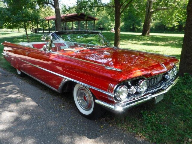 1959 OLDSMOBILE 98 CONVERTIBLE COUPE in Milford, OH