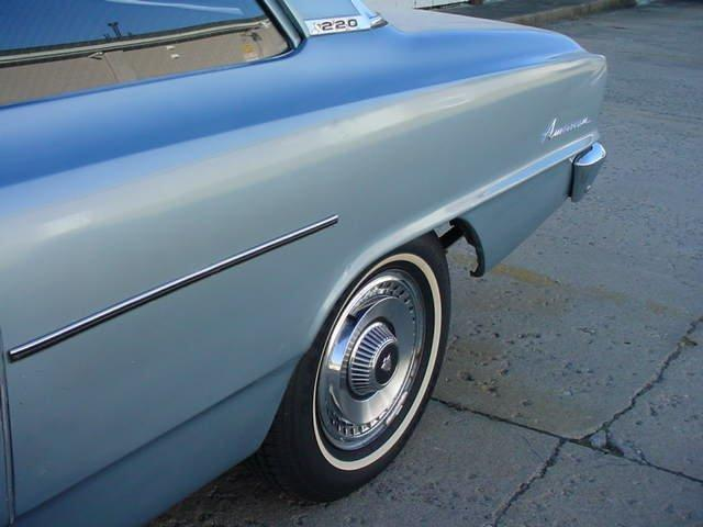 1965 AMC RAMBLER AMERICAN 6 CYL MANUAL 2 DOOR SEDAN - Photo