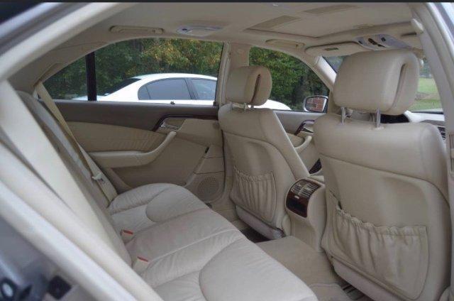 2005 MERCEDES BENZ S500 SUN ROOF - Photo