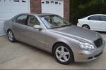 2005 MERCEDES BENZ S500 SUN ROOF